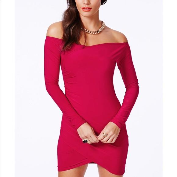 Missguided Dresses & Skirts - Missguided Off Shoulder Dress